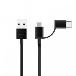 Кабель 2 in 1 USB Type-C/Micro Xiaomi ZMI 30 см (AL511)